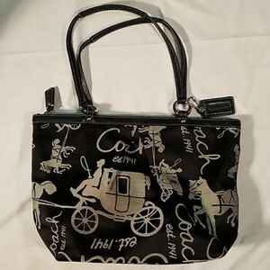 Coach Horse & Carriage Tote Bag